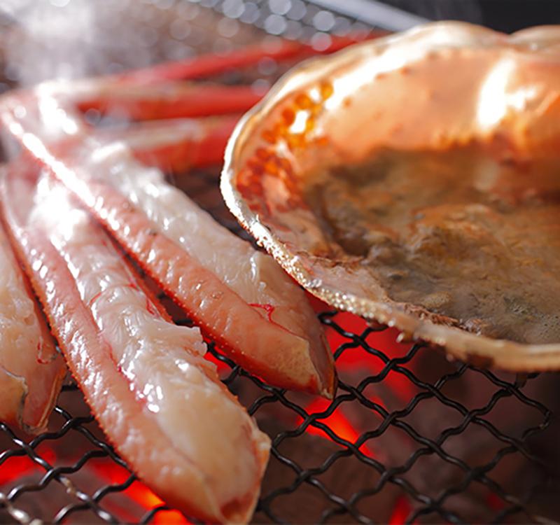 間人蟹料理