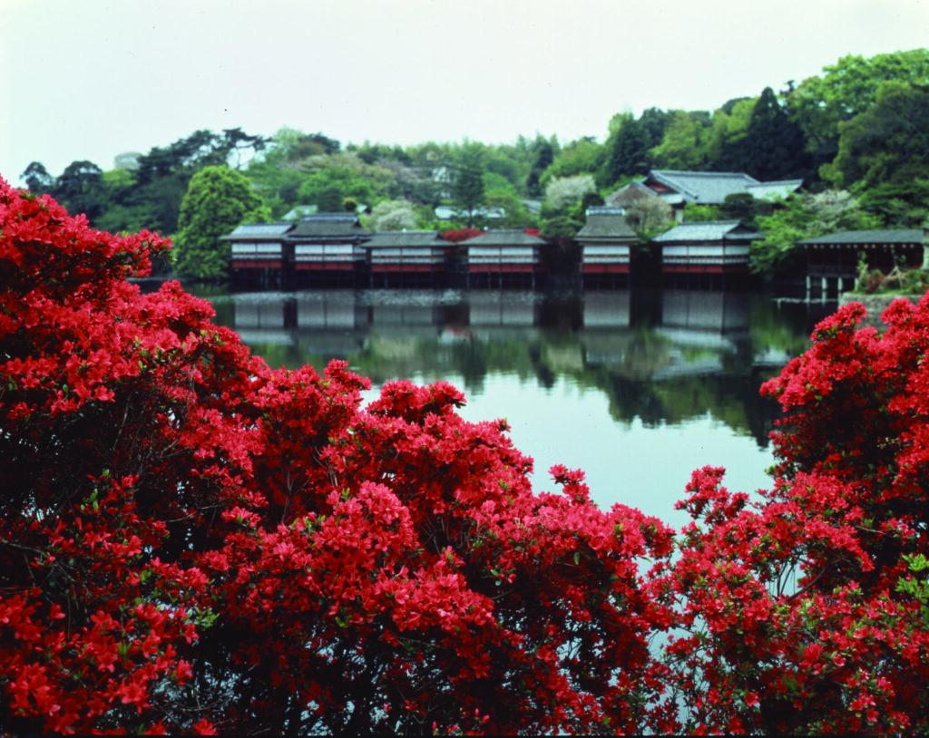 长冈京市 锦水亭