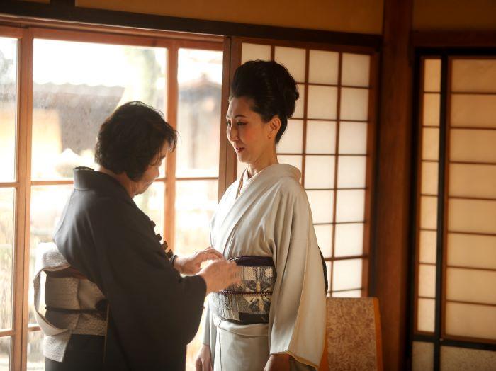 Tango Chirimen Kimono Experience