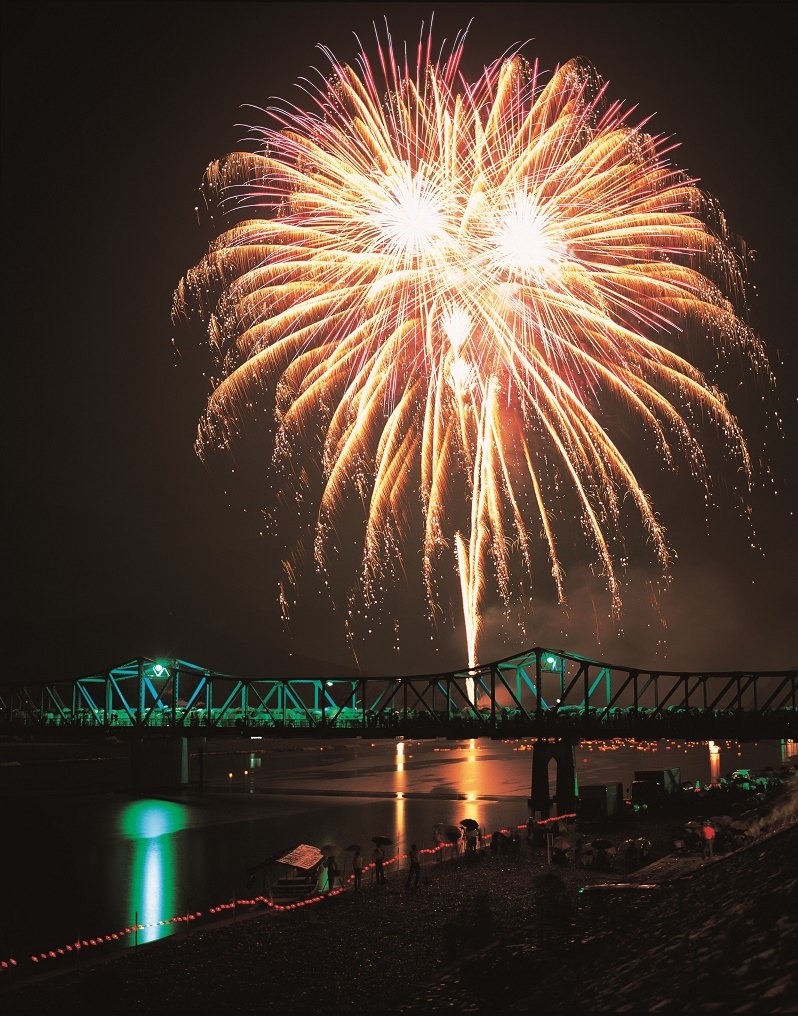 Nantan City Fireworks Festival