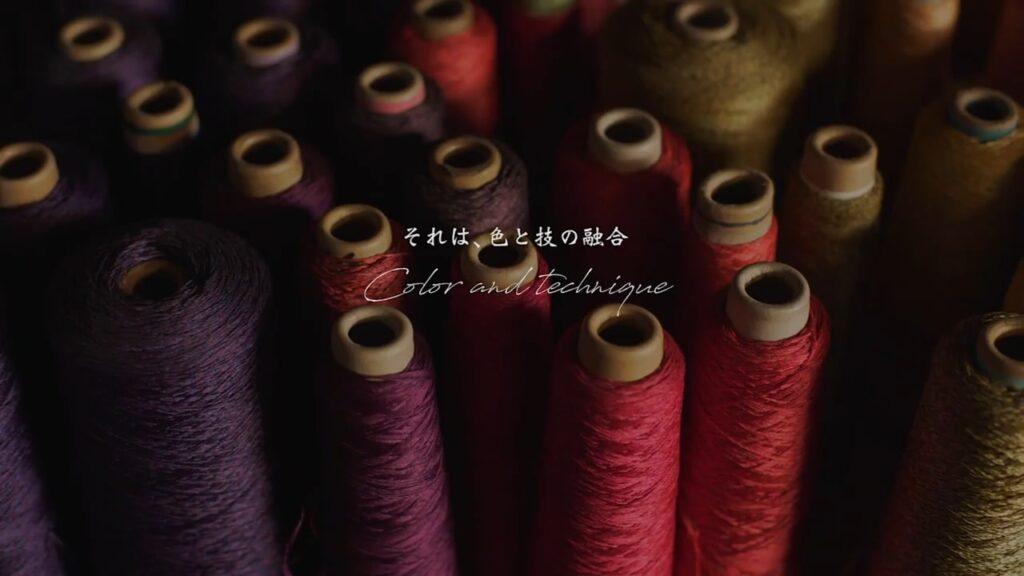 Tango Chirimen Crepe Silk Promotion Video